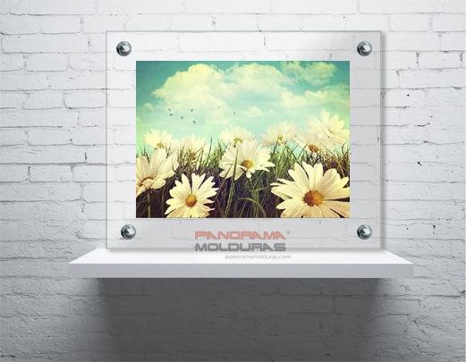 Panorama Molduras SP - Montagem Vidro duplo botão