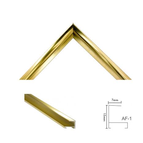 Moldura AF-1 Ouro Brilho