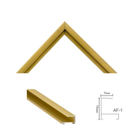 Moldura AF-1 Ouro Fosca