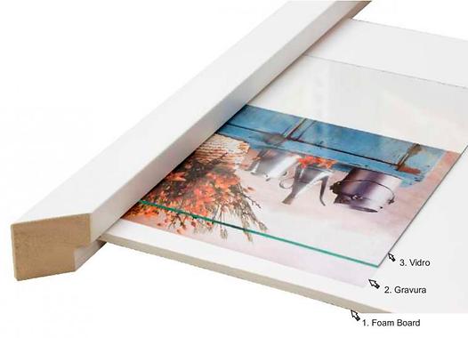 Foam board caixa