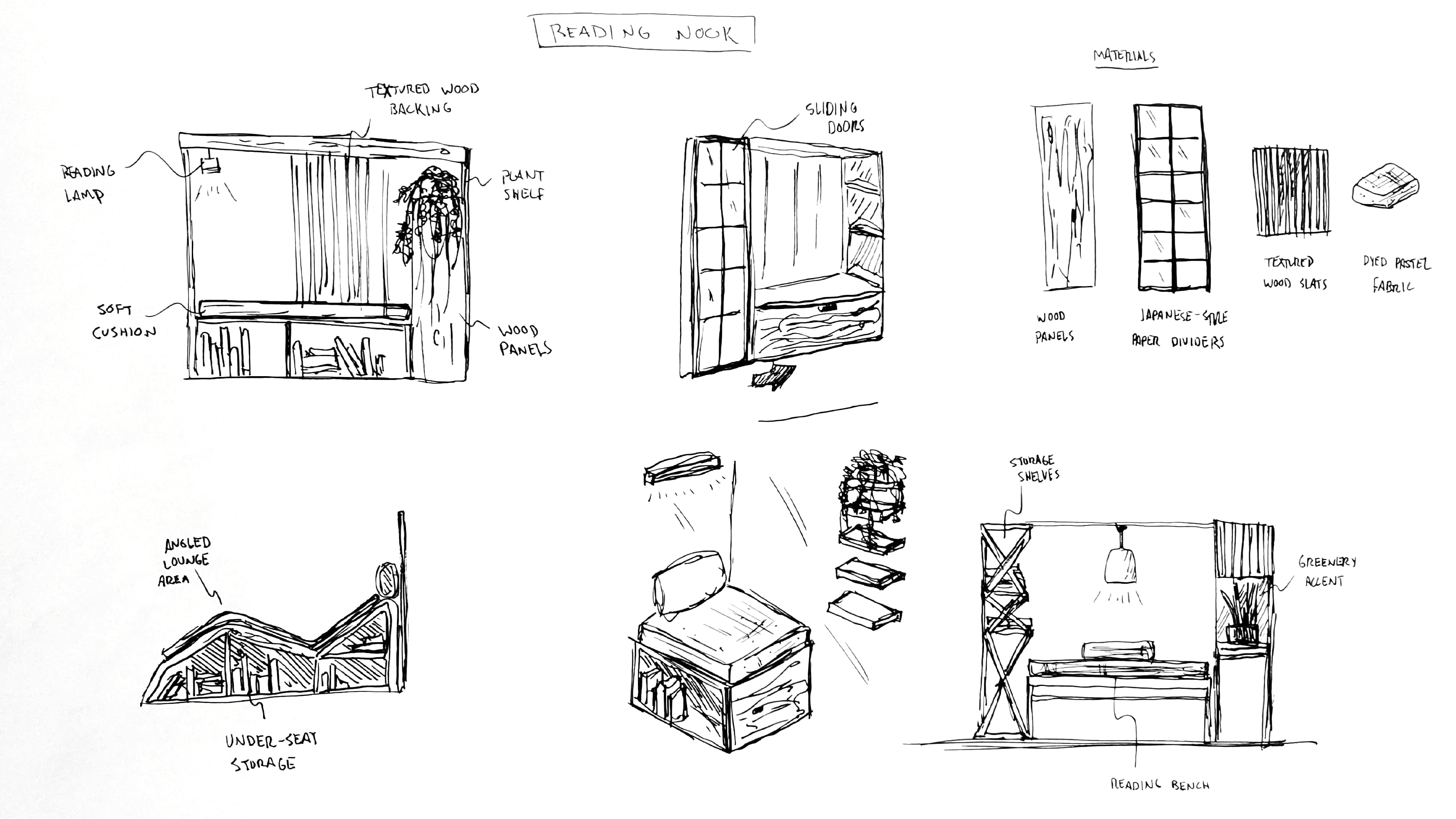 furniture sketches
