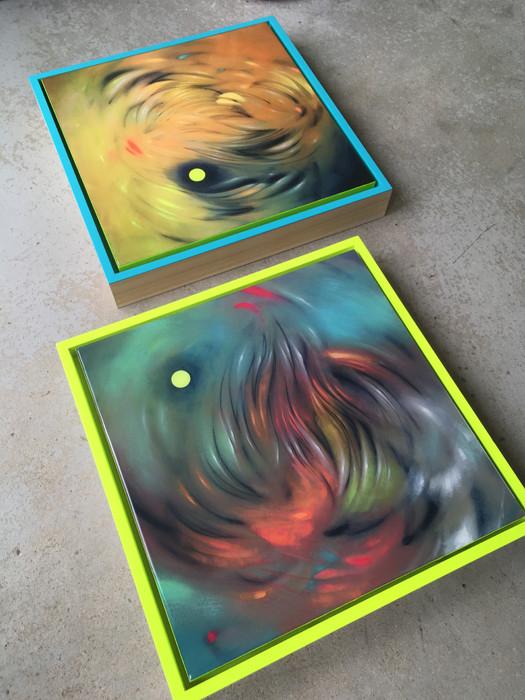 No. 462 & 464 framed