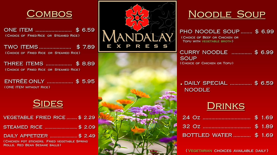 UNM  Red Price Menu  Jan 17 2018 w Shado