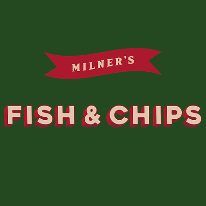 MILNERS Fish & Chips horizontal red_beig