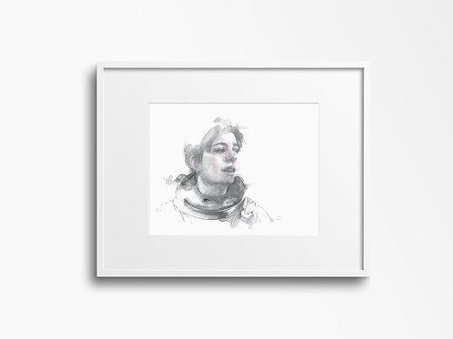 Art Print 星際啟示錄 (Interstellar) Brand