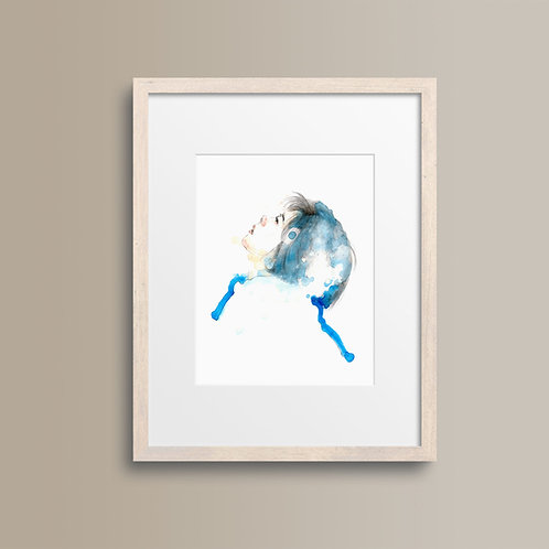 Art Print 情書 (Love Letter)