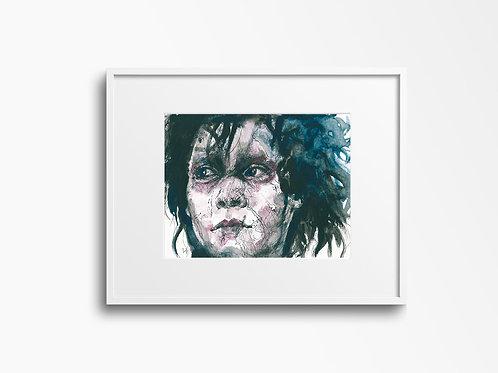 Art Print 幻海奇緣 (Edward Scissorhands)