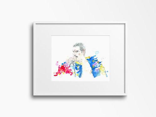 Art Print Freddie Mercury (Queen)