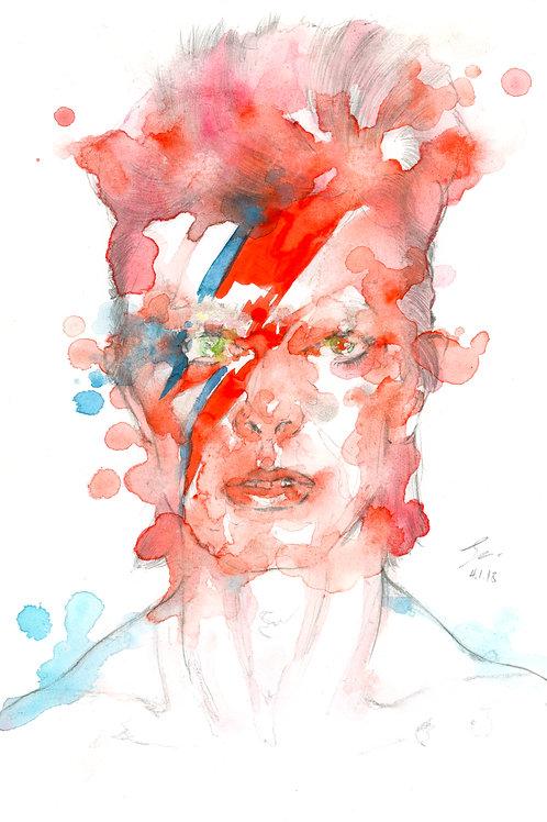 Art Print David Bowie