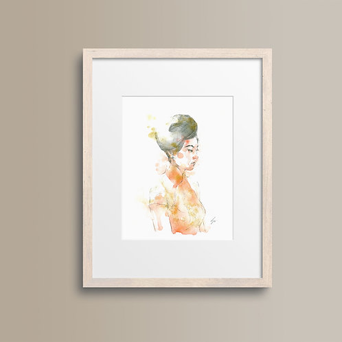 Art Print 花樣年華 (In the Mood for Love)