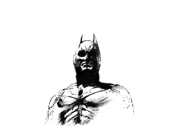 Art Print 蝙蝠俠—黑夜之神 (The Dark Knight) Batman