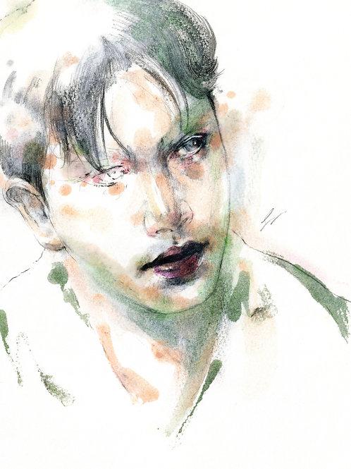 Art Print 英雄本色 (A Better Tomorrow) 張國榮 Leslie Cheung