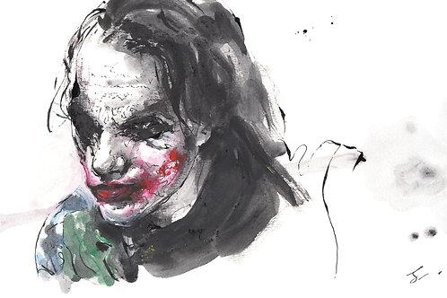 Art Print 蝙蝠俠—黑夜之神 (The Dark Knight) Joker