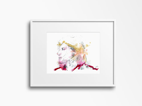 Art Print Kurt Cobain (Nirvana)