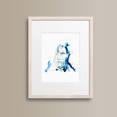 Art Print 幻海奇緣 (Edward Scissorhands) Edward