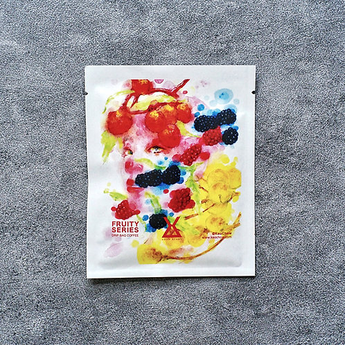 Fruity Series Drip Bag Coffee & Good StoryColoring Card