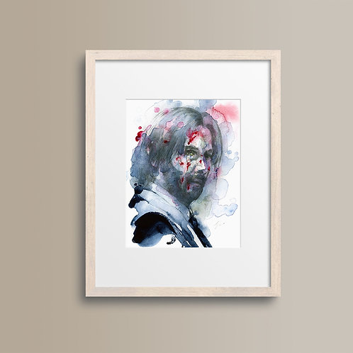 Art Print 殺神3 (John Wick 3)
