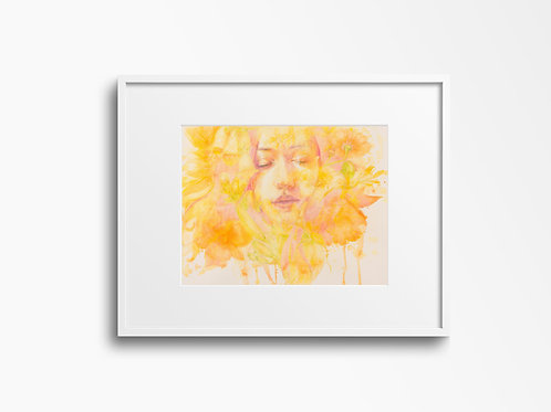 Art Print 愛 Love