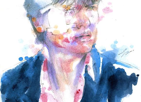 Art Print 英雄本色 (A Better Tomorrow) 周潤發 Chow Yun Fat