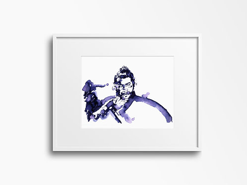 Art Print 用心棒 Yojimbo