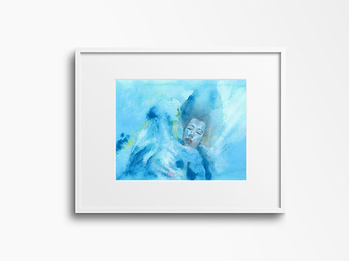 Art Print 忘形水 (The Shape of Water)