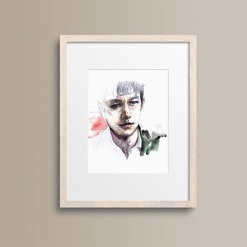 Art Print 心跳500天 ((500) Days of Summer)