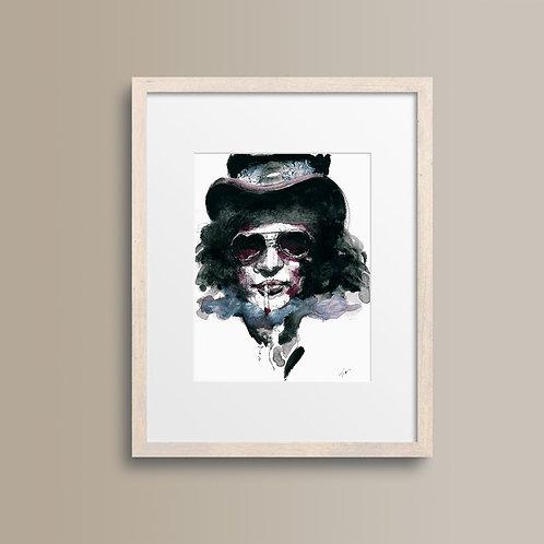 Art Print Slash