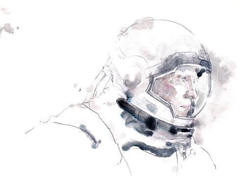 Art Print 星際啟示錄 (Interstellar) Cooper
