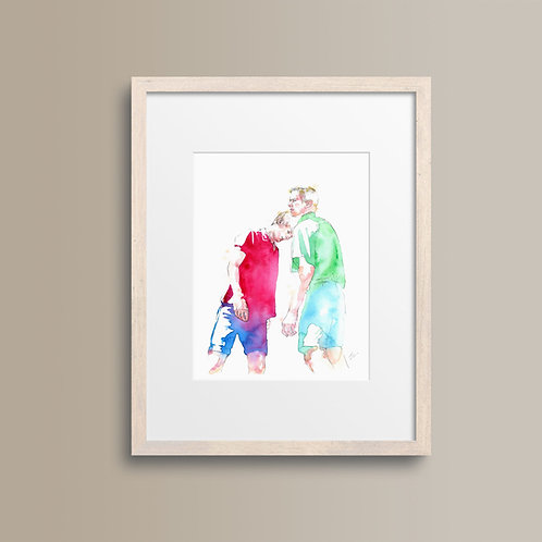 Art Print 以你的名字呼喚我 (Call Me by Your Name)