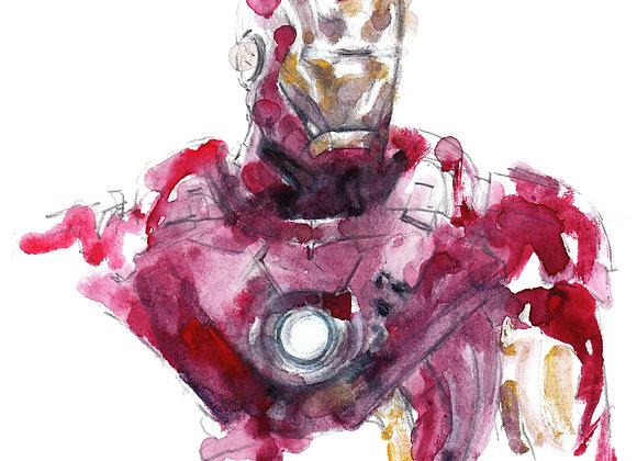 Art Print 鐵甲奇俠 (Iron Man)