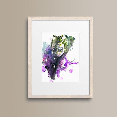 Art Print 自殺特攻:超能暴隊 (Suicide Squad) Joker