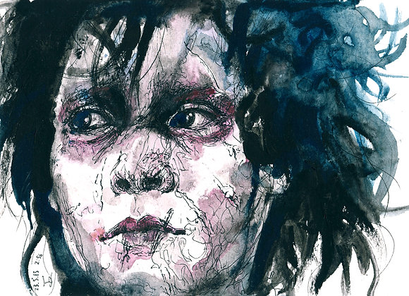 Art Print 幻海奇緣 (Edward Scissorhands)