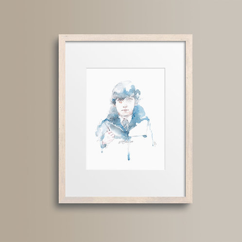Art Print 愛情潛水 (Submarine)