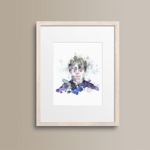 Art Print Liam Gallagher (Oasis)
