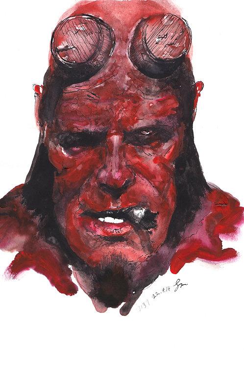 Art Print 天魔特攻 (Hellboy)