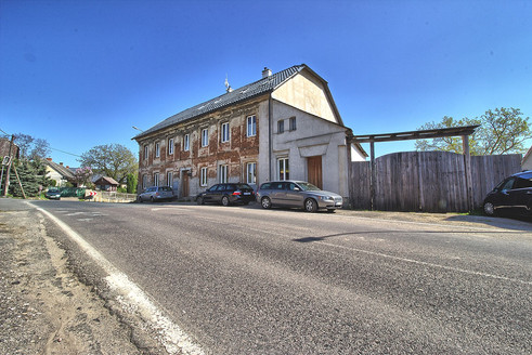 Hostinec po rekonstrukci, Horní Bousov, okr. Mladá Boleslav