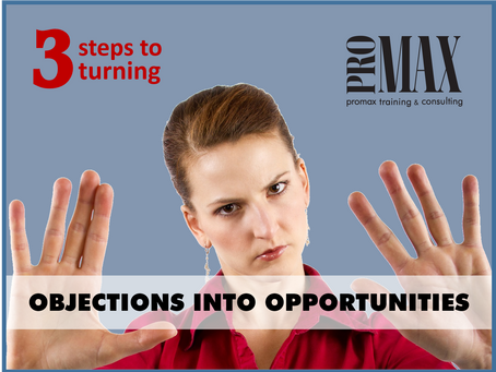 OBJECTIONS ARE AS EASY AS 1-2-3