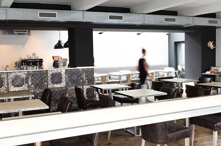 Bref café restaurant à Lausanne