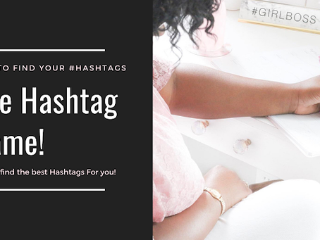 The Hashtag Game!