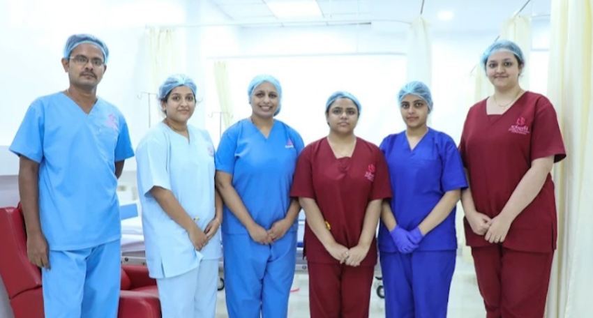 Dedicated Team of Embryologists