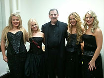 A Celtic guy with four lovely Celtic Wom