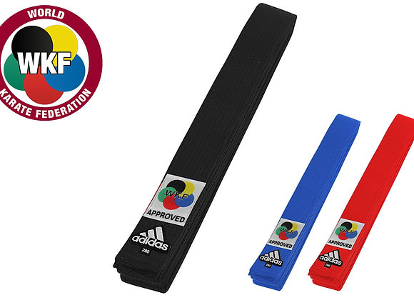 Wkf Adidas karate belts