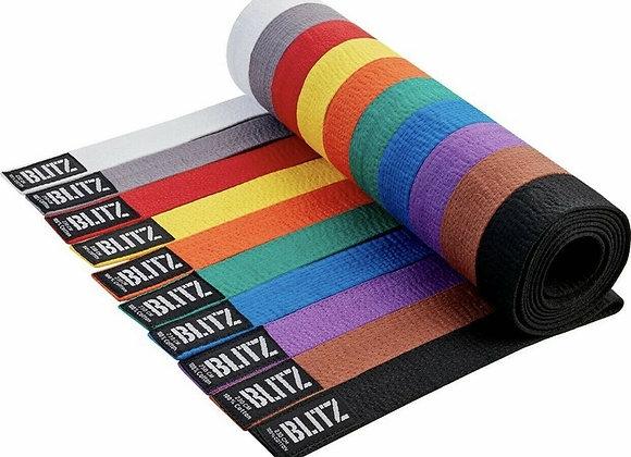 Karate Plain Coloured Belts