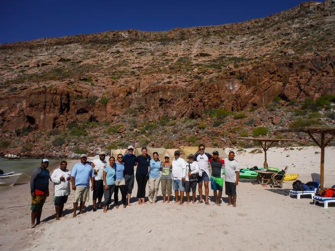 En el campamento de Fun Baja