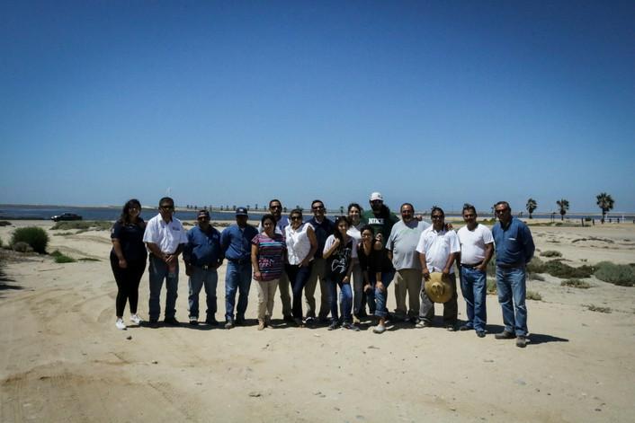 Equipo capacitado en la Reserva de la Biosfera de Vizcaíno