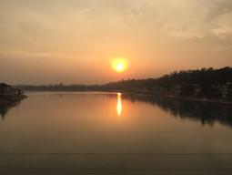 Sunset on Ganga