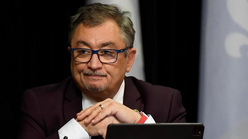 Quebec director of public health, Dr. Horacio Arruda