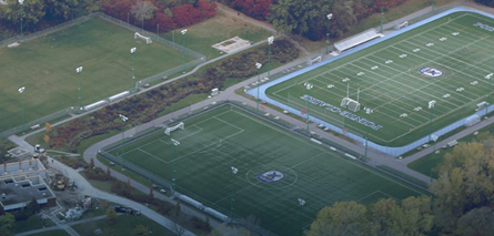 Pointe-Claire's Terra-Cotta upper soccer field will be renovated.