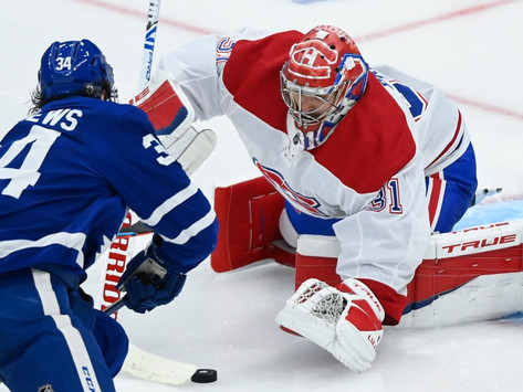 Suzuki, Price, and Armia help Canadiens force game 6 against Leafs.