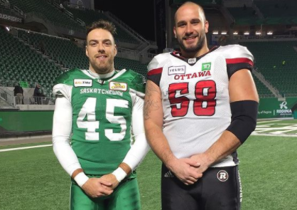 Two West-Island natives join the Montreal Alouettes.